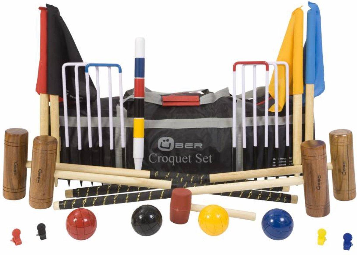 Croquet Set - Traditioneel Croquet Spel van ECO hardhout