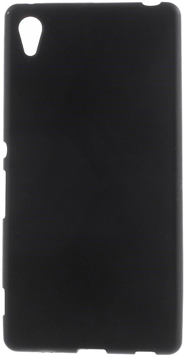 Image of Mesh - Sony Xperia Z3+ Plus Hoesje - Zachte Back Case Zwart (8718923056494)