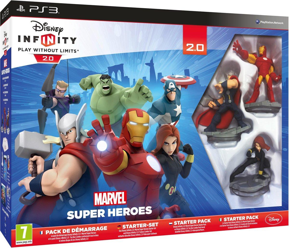 Disney Infinity 2.0 Marvel Super Heroes Starter Pack - PS3 kopen