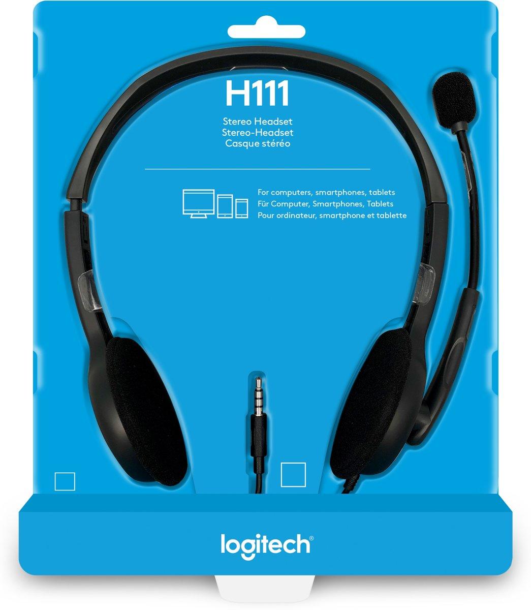 Logitech H111 Stereo Headset H110