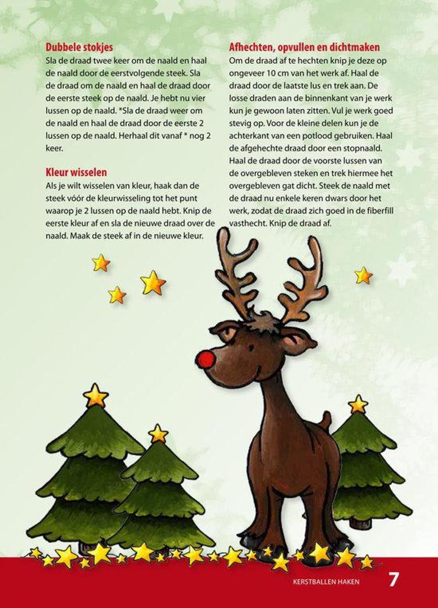 Bolcom Kerstballen Haken Annemarie Arts 9789058779694 Boeken