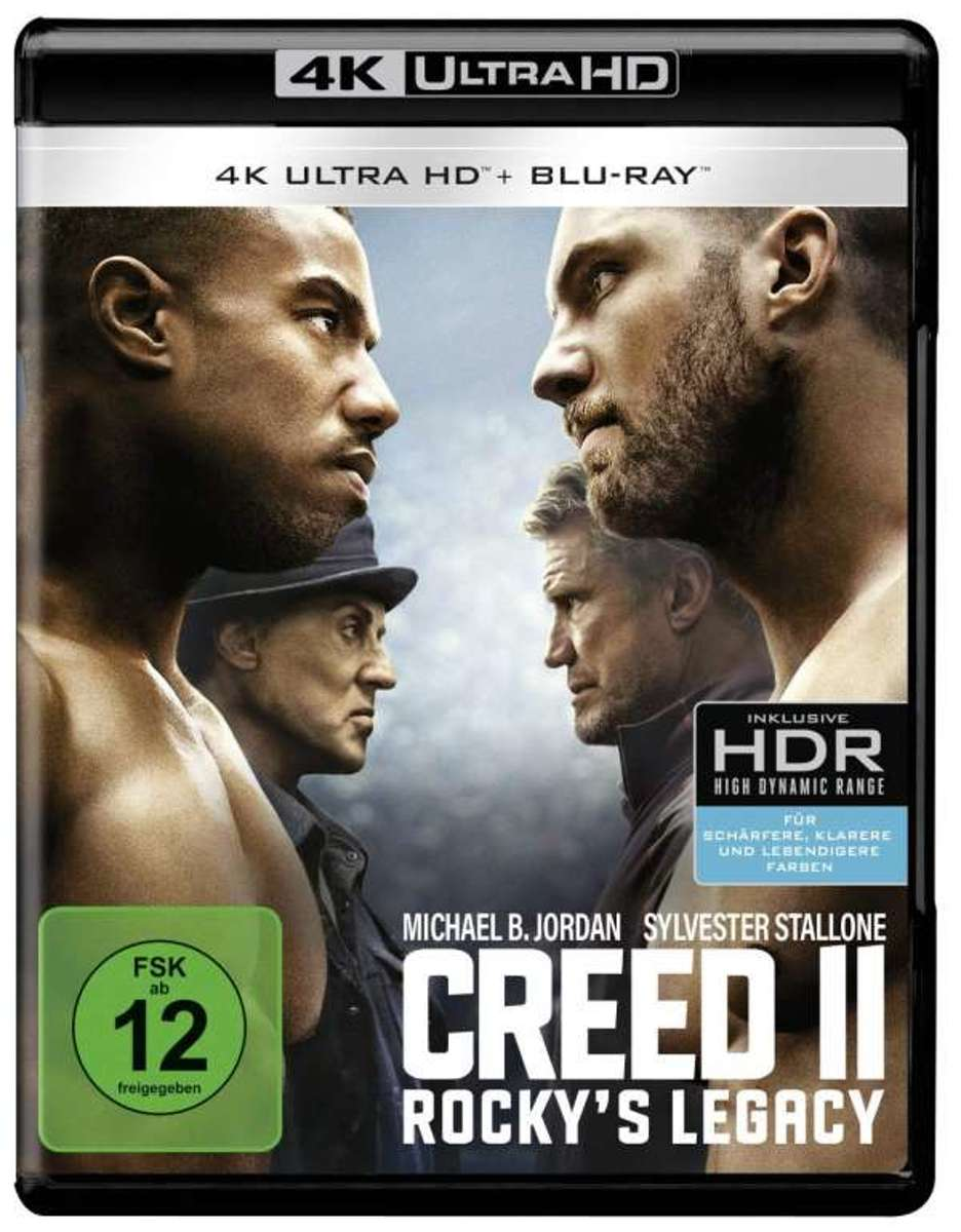 Creed II: Rocky's Legacy (Ultra HD Blu-ray & Blu-ray)-