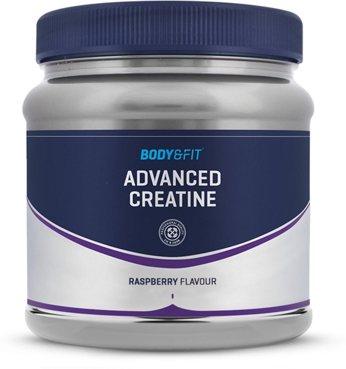 Body & Fit Advanced Creatine - 300 gram - Raspberry kopen