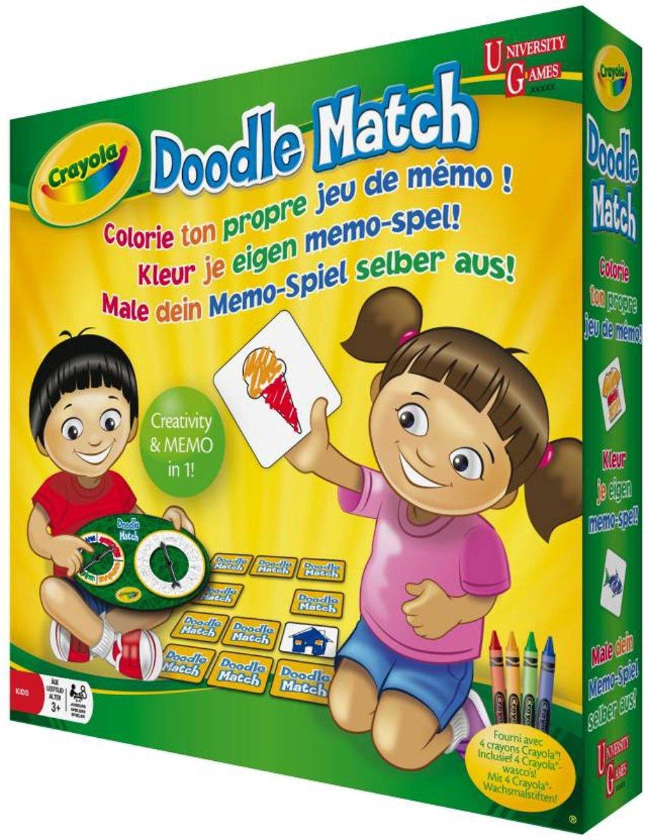 Crayola Doodle-Match - Kleur Je Eigen Memo-Spel!