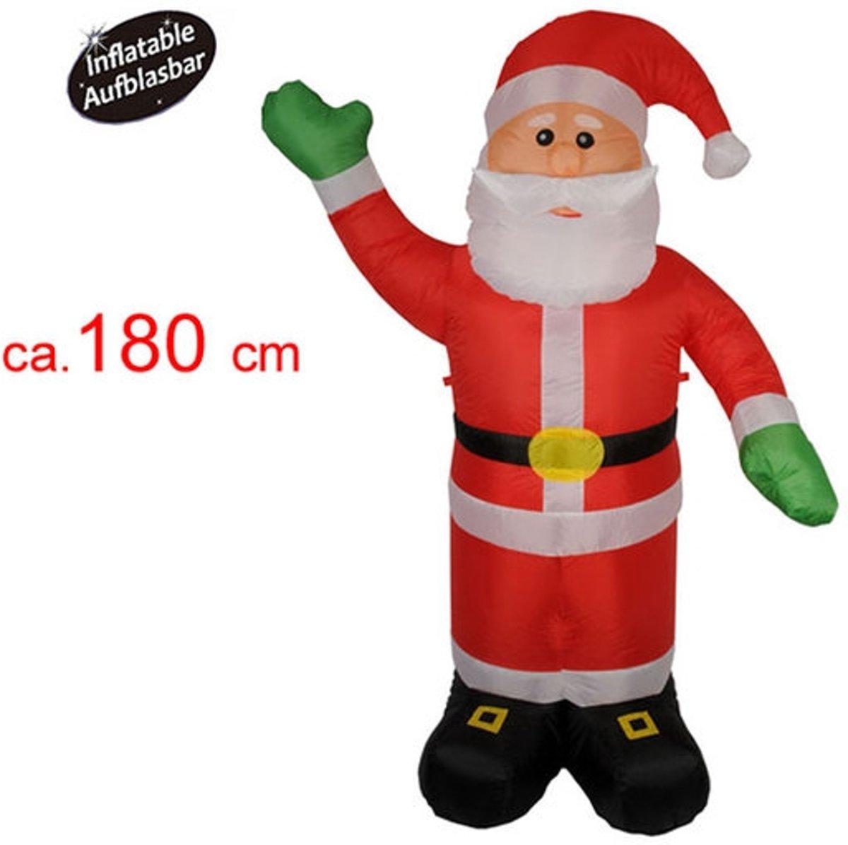Kerstman 180 cm (opblaasbaar) kopen
