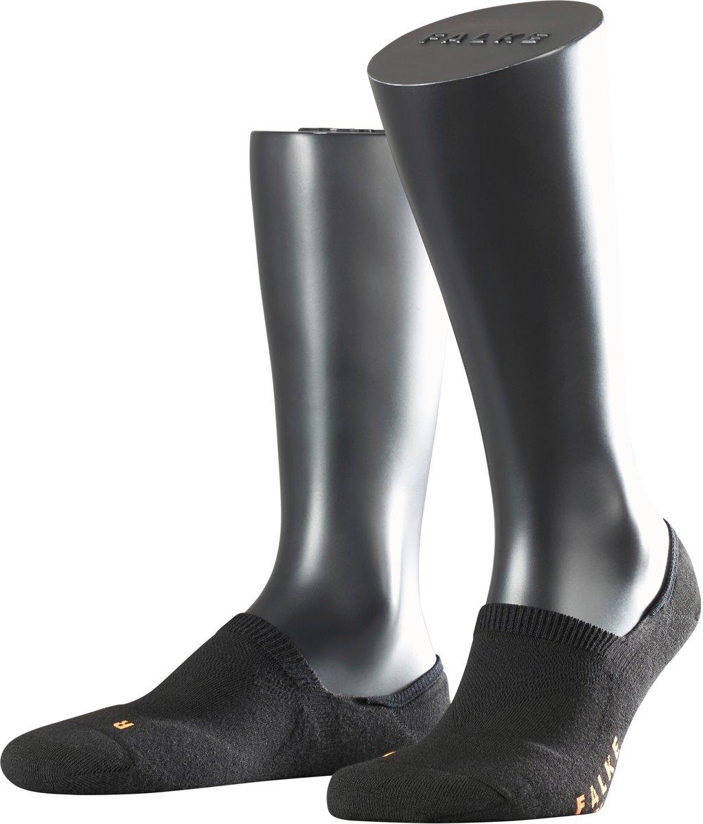 FALKE Cool Kick Invisible Sneakersokken - Zwart - Maat 46-48 kopen