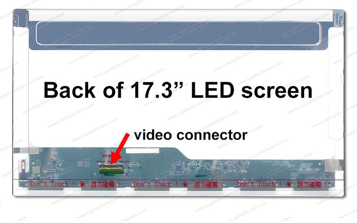 N173HGE-L11 Rev.C1 17.3 inch LCD scherm 1920x1080 mat 40Pin