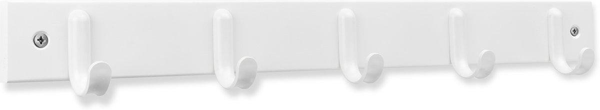 Kapstok Wit met 5 ophanghaken