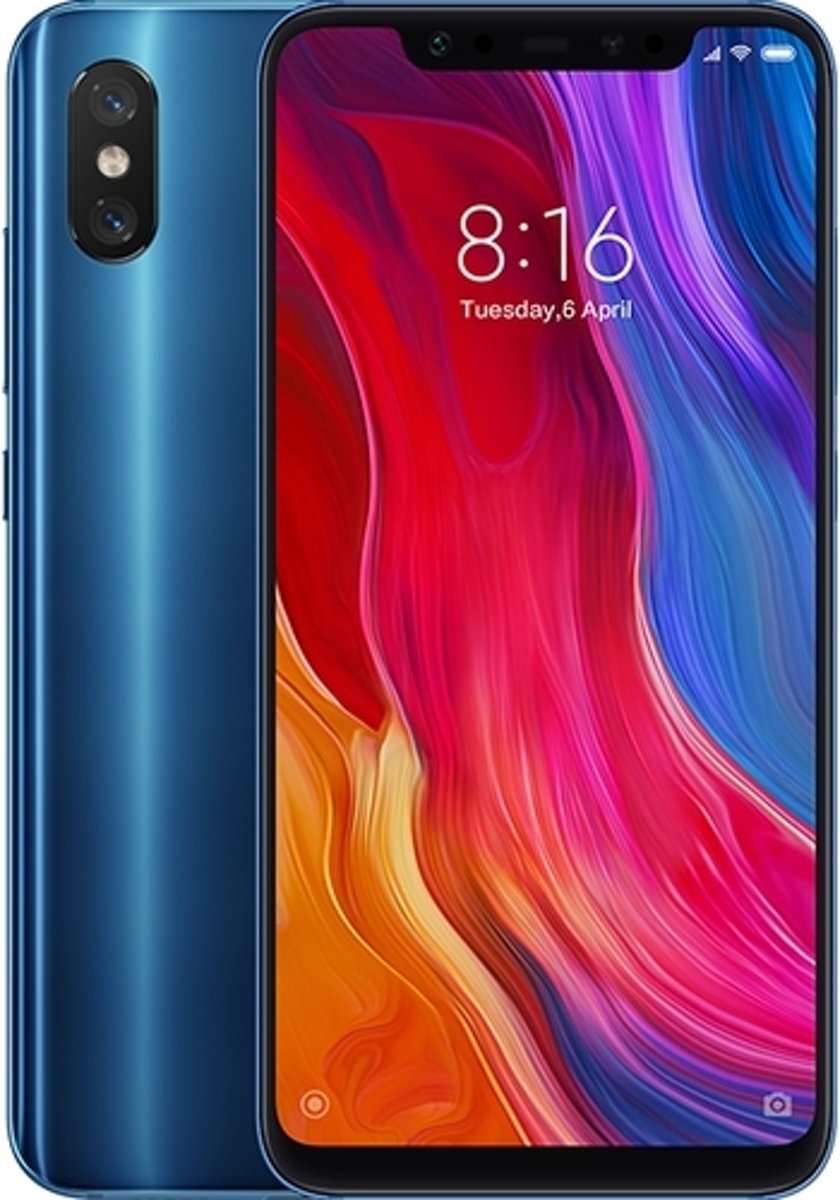 Xiaomi Mi 8 - 128GB - Dual Sim - Blauw kopen