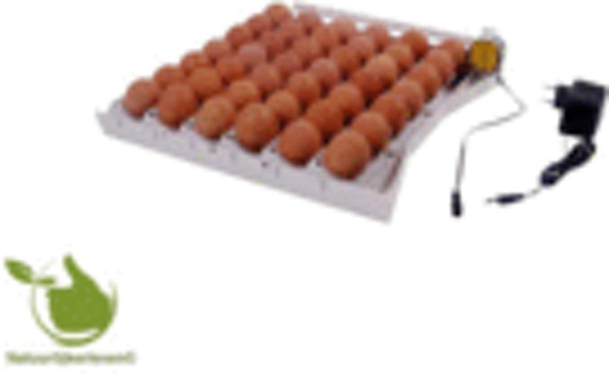Automatisch keersysteem voor 42 eieren