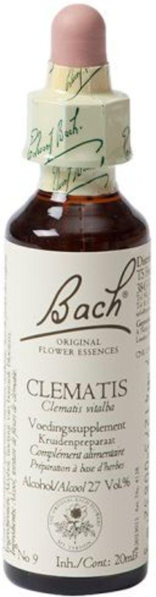 Foto van Bach Clematis Bosrank - 20 ml - Voedingssupplement