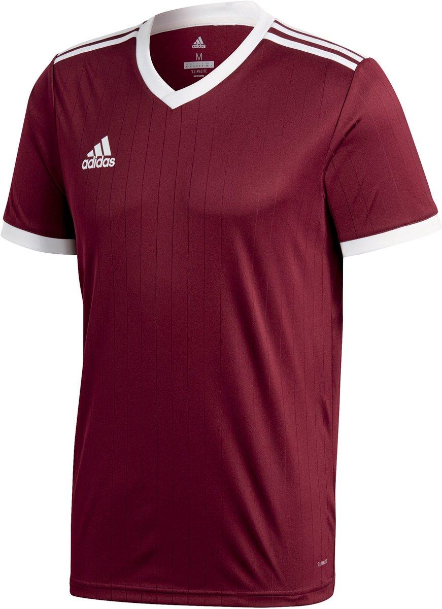 adidas Tabela 18 SS Jersey Teamshirt Heren Sportshirt performance Maat XL Mannen roodwit