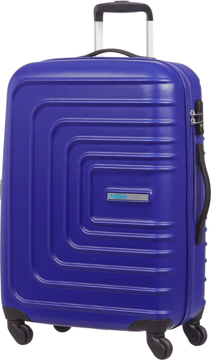 Waterproof Storage Bag Handbag Oxford Tarpaulin Color : White Grid, Size : 65L Can Board Large Capacity Unisex Trolley Bag Suitcase Mute Wheel