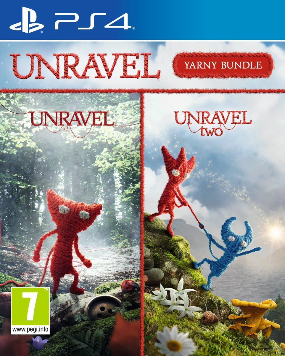 Unravel Yarny Bundel PlayStation 4