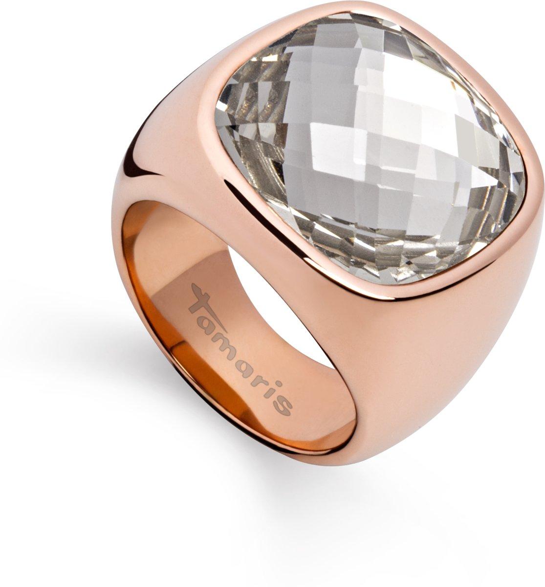 Tamaris - A03712018 - Ring - Roestvrij staal - Rosékleurig kopen