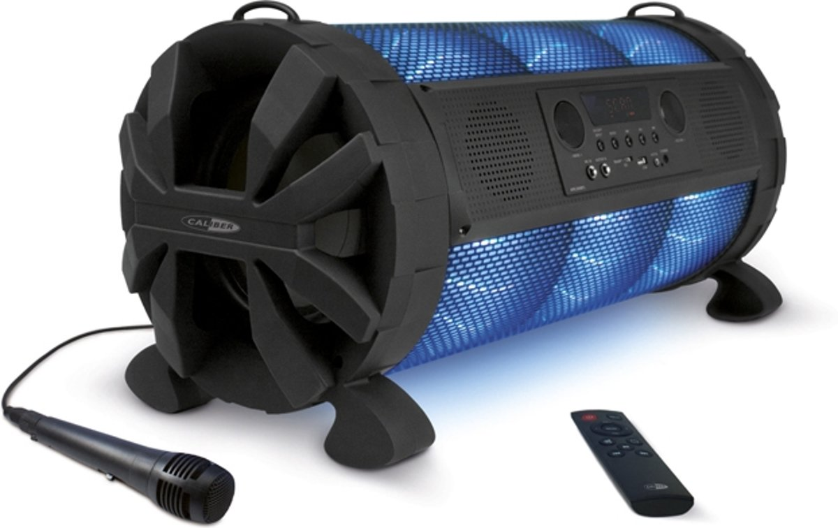 Caliber HPG519BTL - Partyspeaker / Bluetooth speaker - Zwart kopen