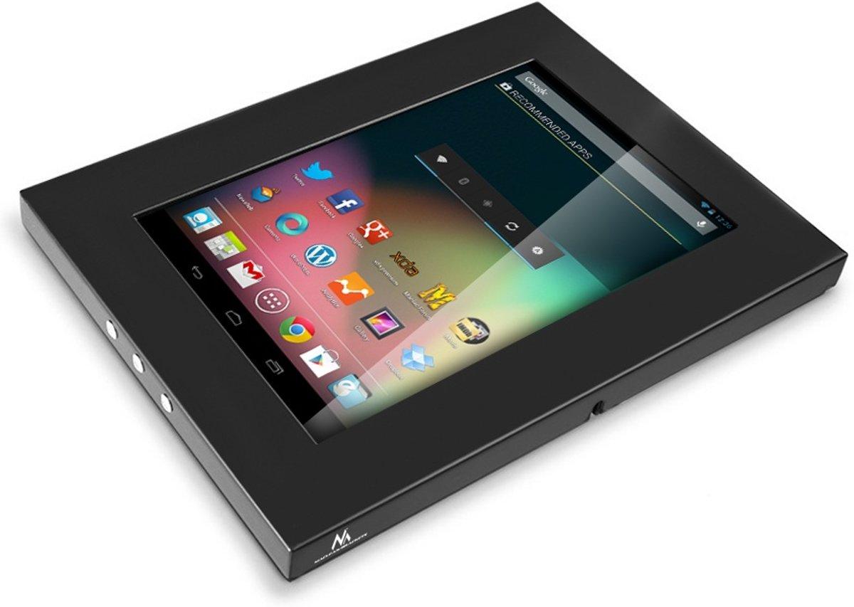 Tablet Muurbeugel Maclean metalen veilige behuizing antidiefstal MC-610