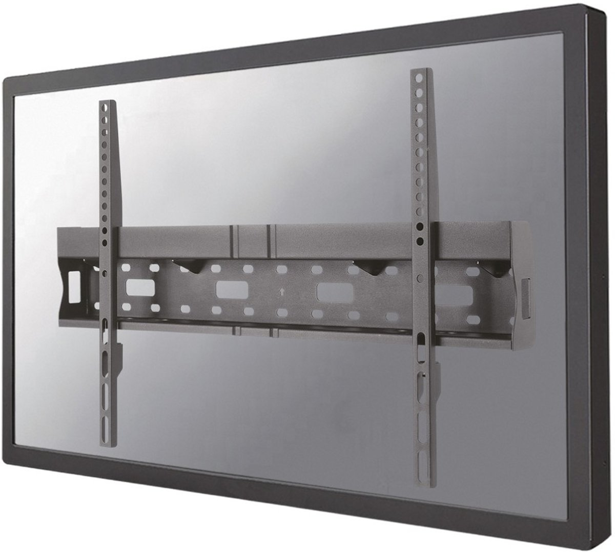 Flat Screen Wall Mount (fixed) Incl. storage for Mediaplayer/Mini PC