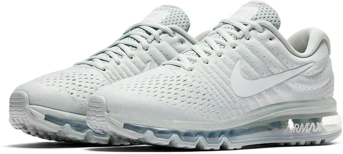 witte nike air sneakers dames