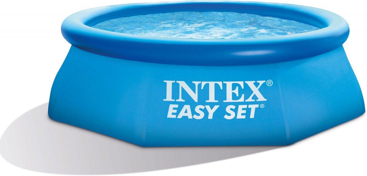 Intex Opblaaszwembad Easy Set Pool 244 X 76 Cm Blauw