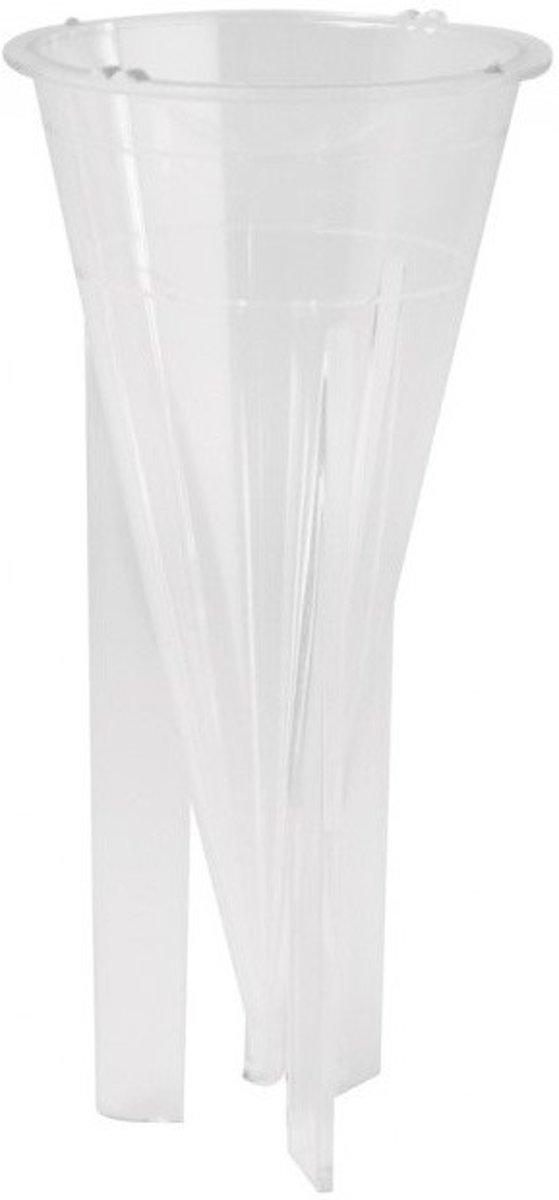 Afbeelding van product Kaarsen gietvorm kegel 14cm