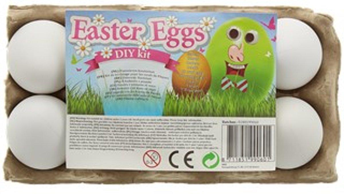 Paaseieren knutselset - Easter eggs - 31-delig