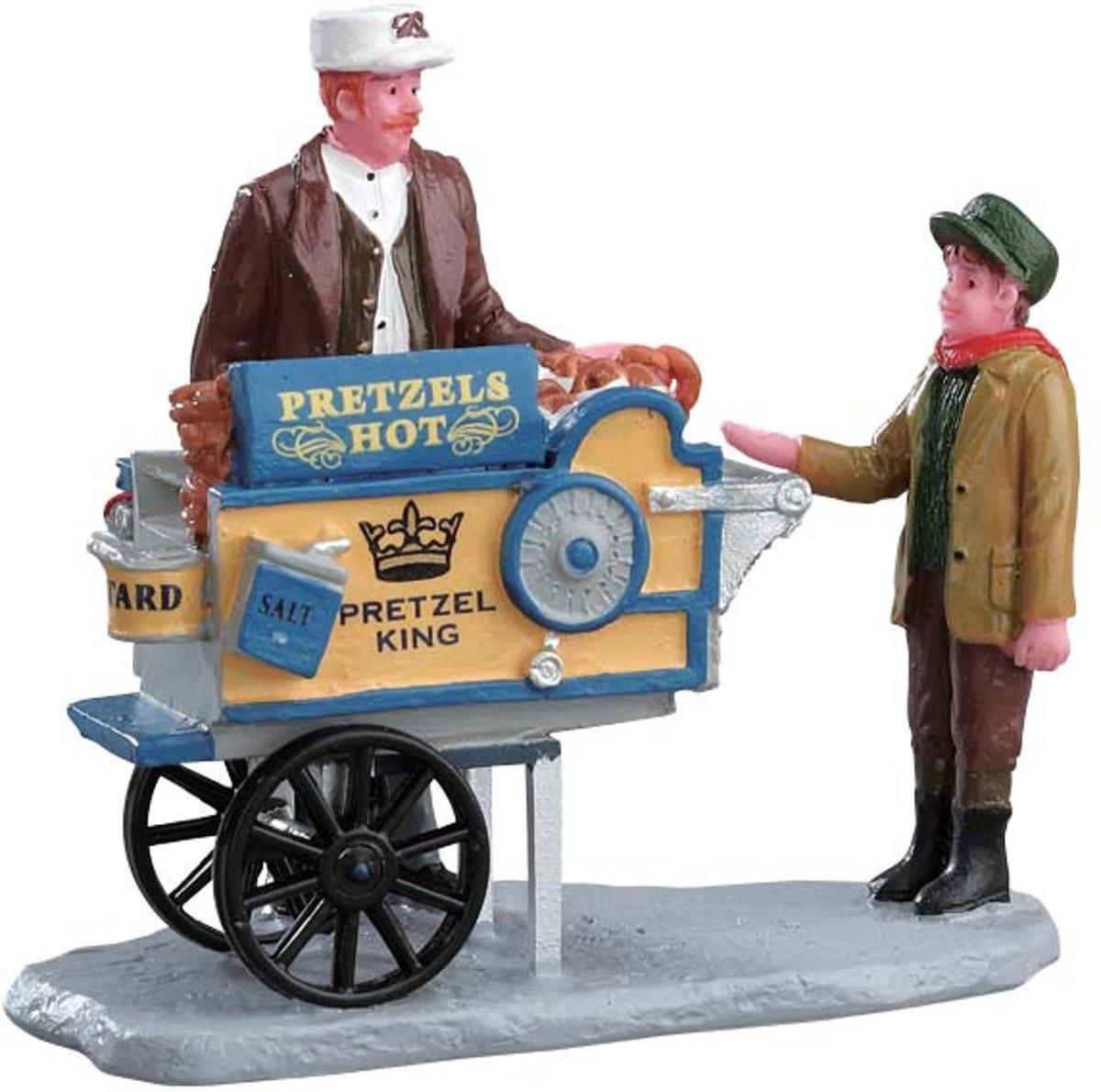 Lemax - Pretzel King Pretzel Cart kopen