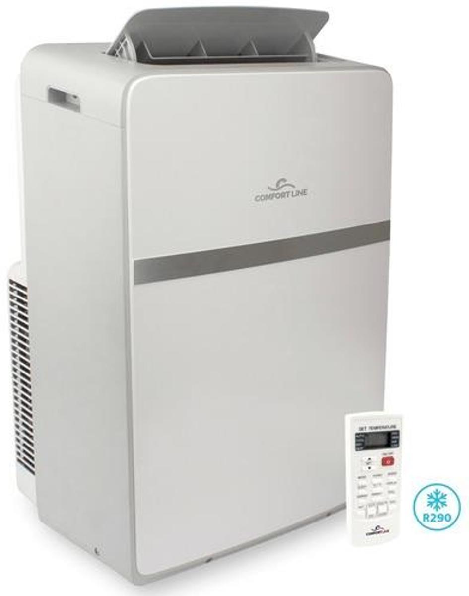 Comfort Line aircobreeze R290 Mobiele airco (koeling en verwarming) 3.5 Kw | airconditioning en warmtepomp zonder buitenunit | voor de slaapkamer en woonkamer in uw huis kopen