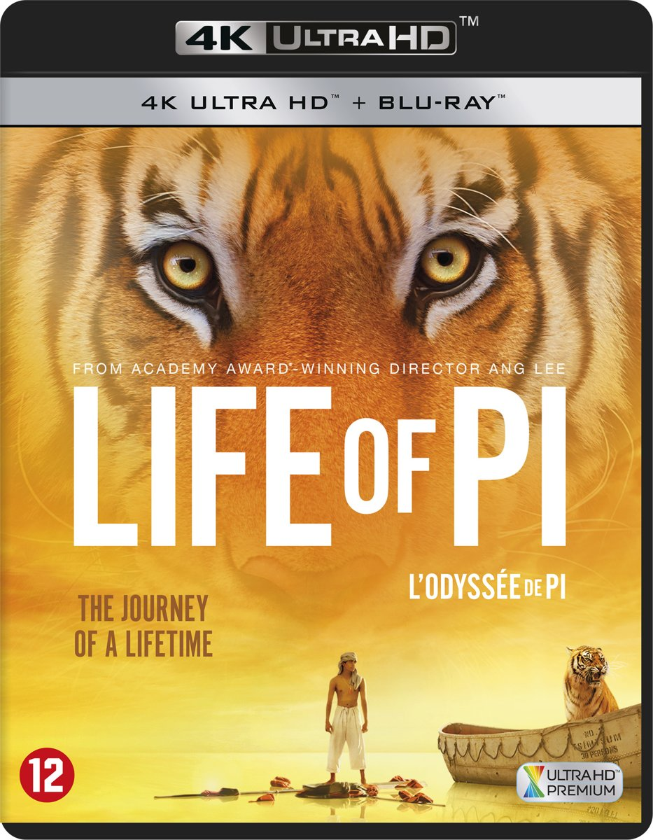 Life Of Pi (4K Ultra HD Blu-ray)-