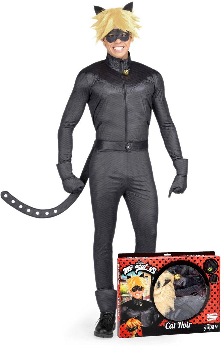 Miraculous™ cat noir kostuum voor volwassenen - Verkleedkleding - Maat S