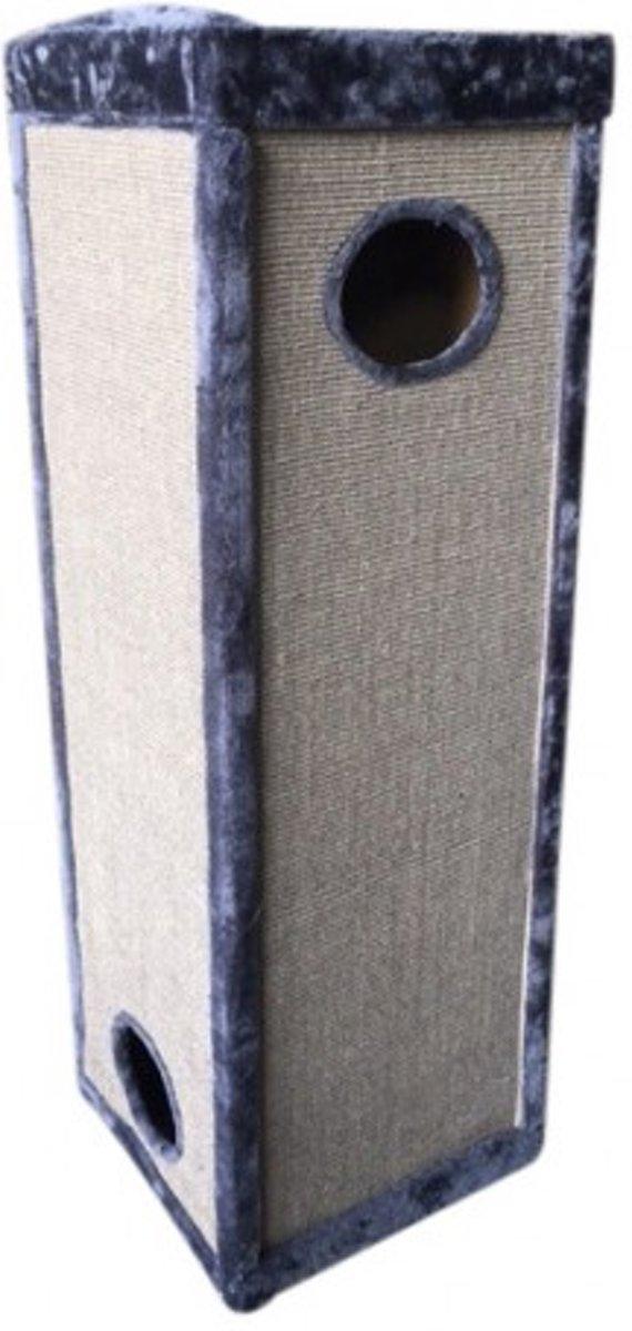 Topmast Krabpaal  Rockpalace Grijs 50 * 50 * 150 cm