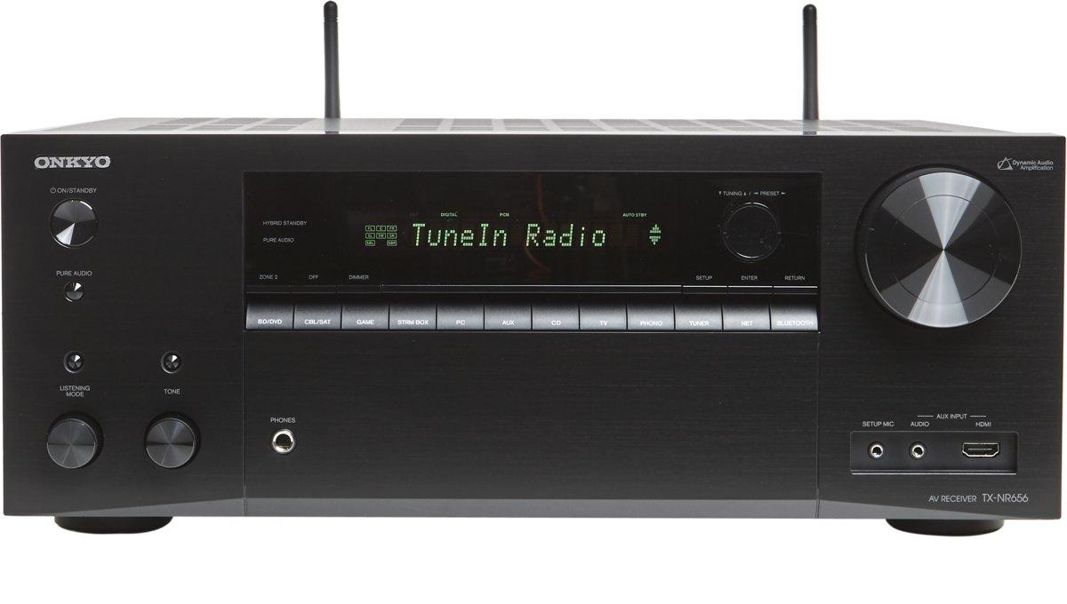 ONKYO TX-NR656 7.2 kanaals Surround AV receiver - Zwart voor €333
