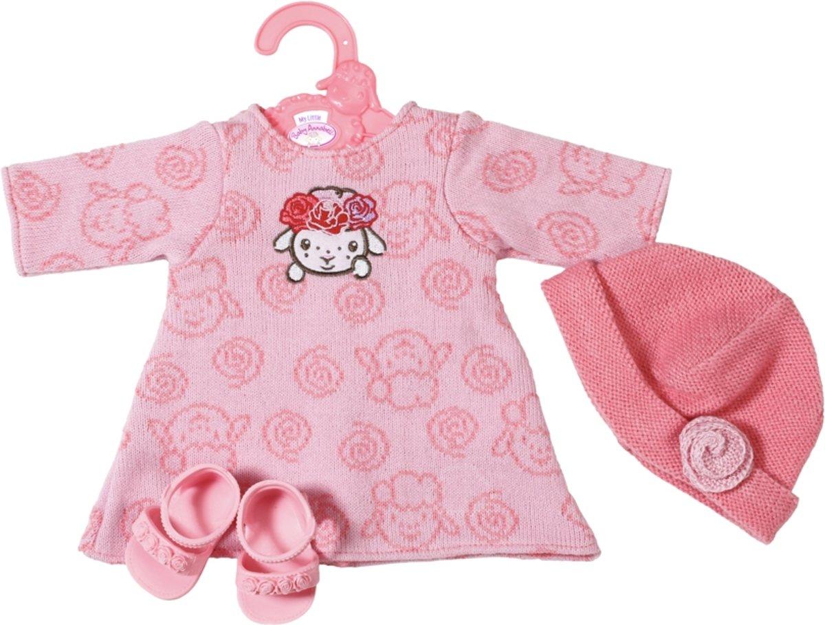 Baby Annabell Little Gebreide jurk 36 cm