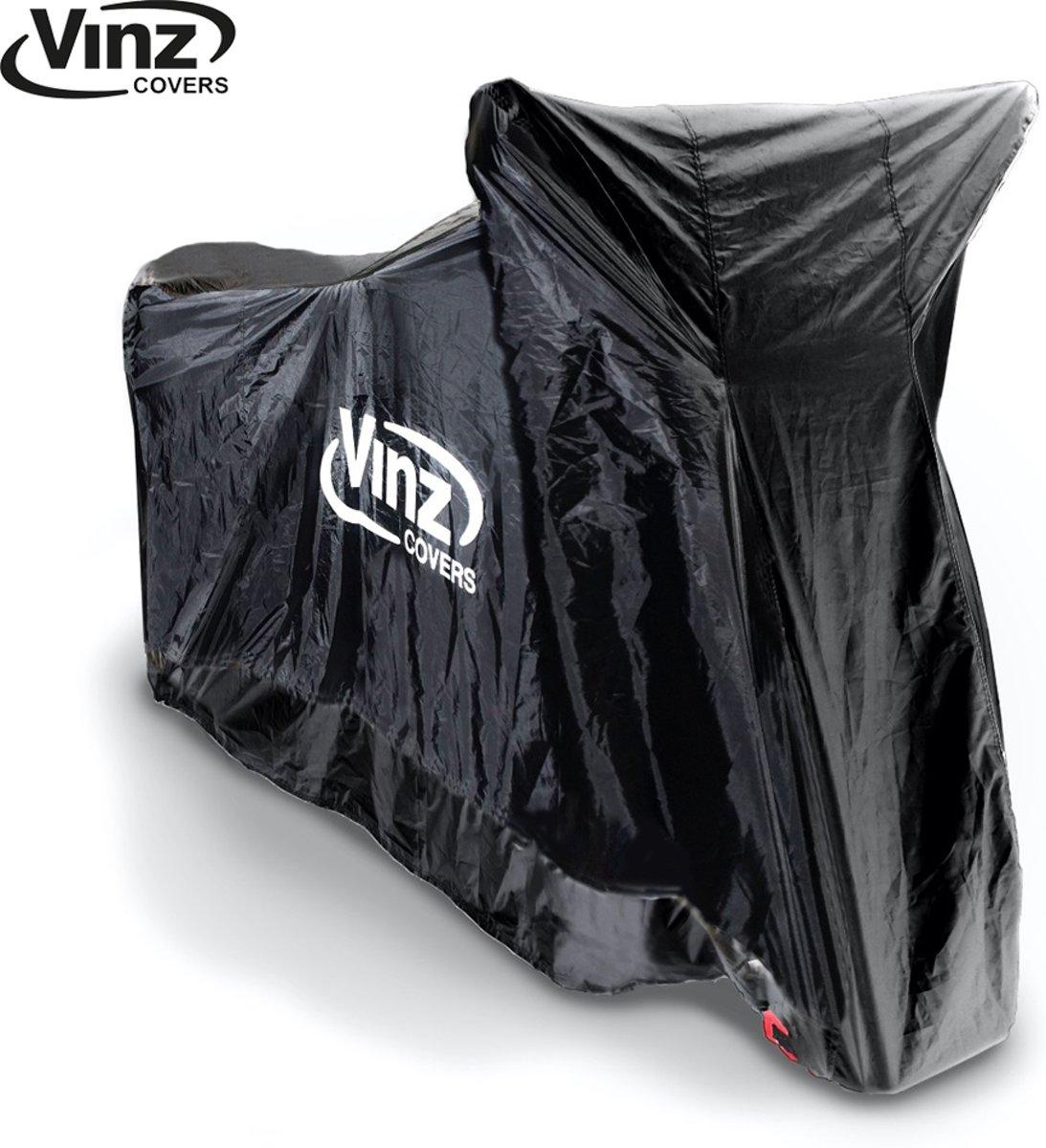 Vinz Motorhoes / Scooterhoes - 4 maten (Zwart)-Medium kopen