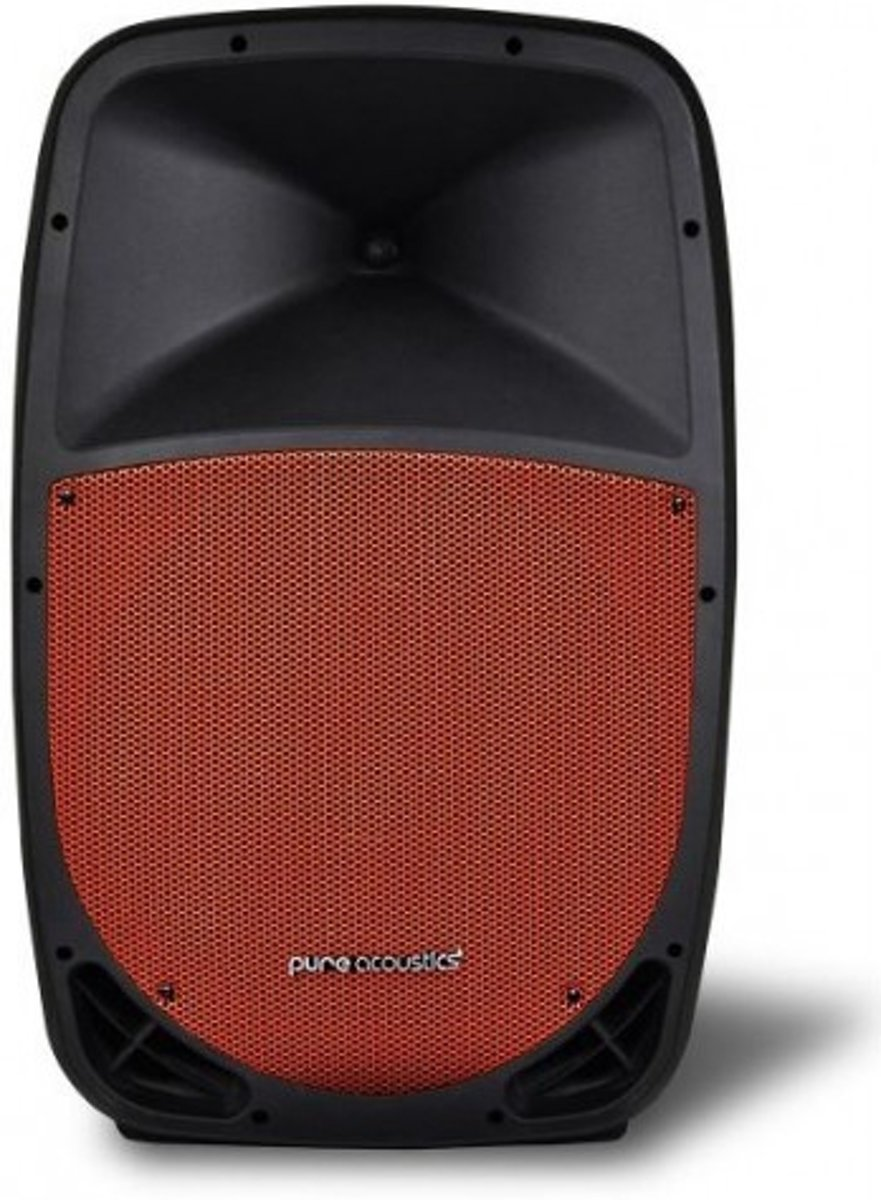 Pure acoustics PMW1212 - Portable bluetooth entertainment systeem met opname functie - zwart