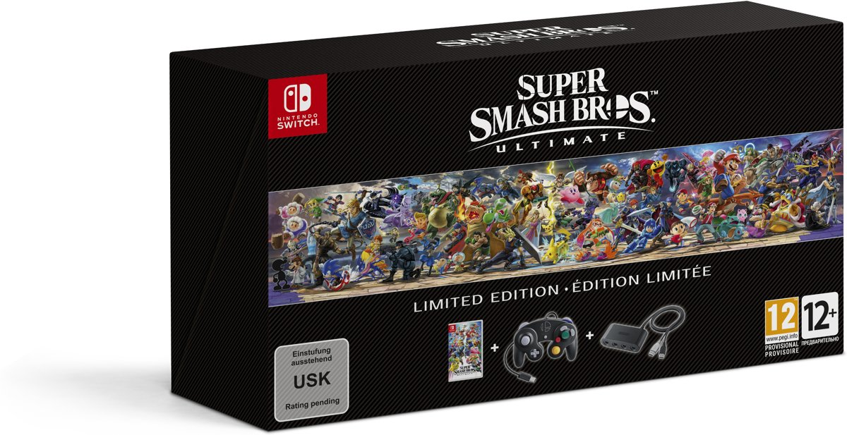 Super Smash Bros Ultimate - Limited Edition bundel Switch
