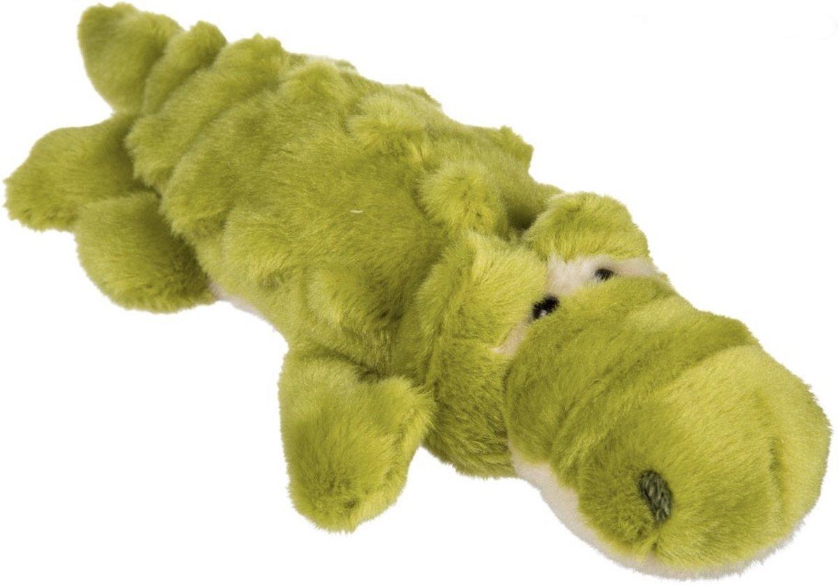 Pluche Groene Krokodil - 23 x 12 x 5 cm