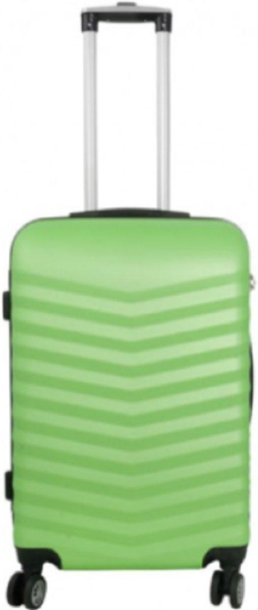 koffer Travelsuitcase kleur groen | 66cm kopen