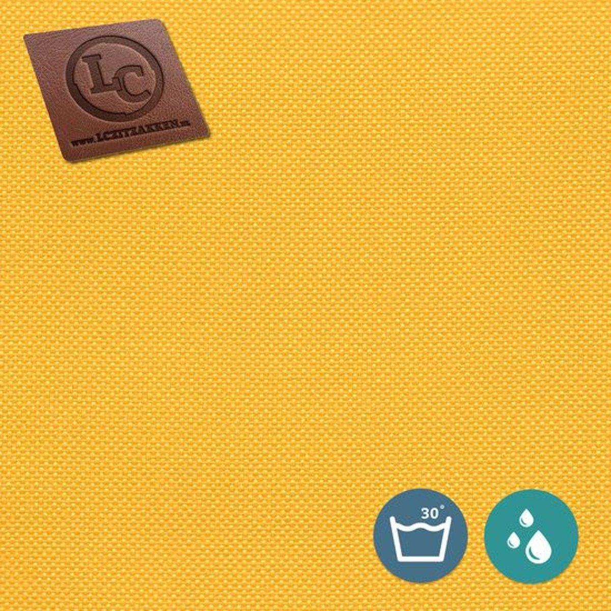 LC Zitzak hoes Barça outdoor geel - Wasbaar - Geschikt voor buiten kopen