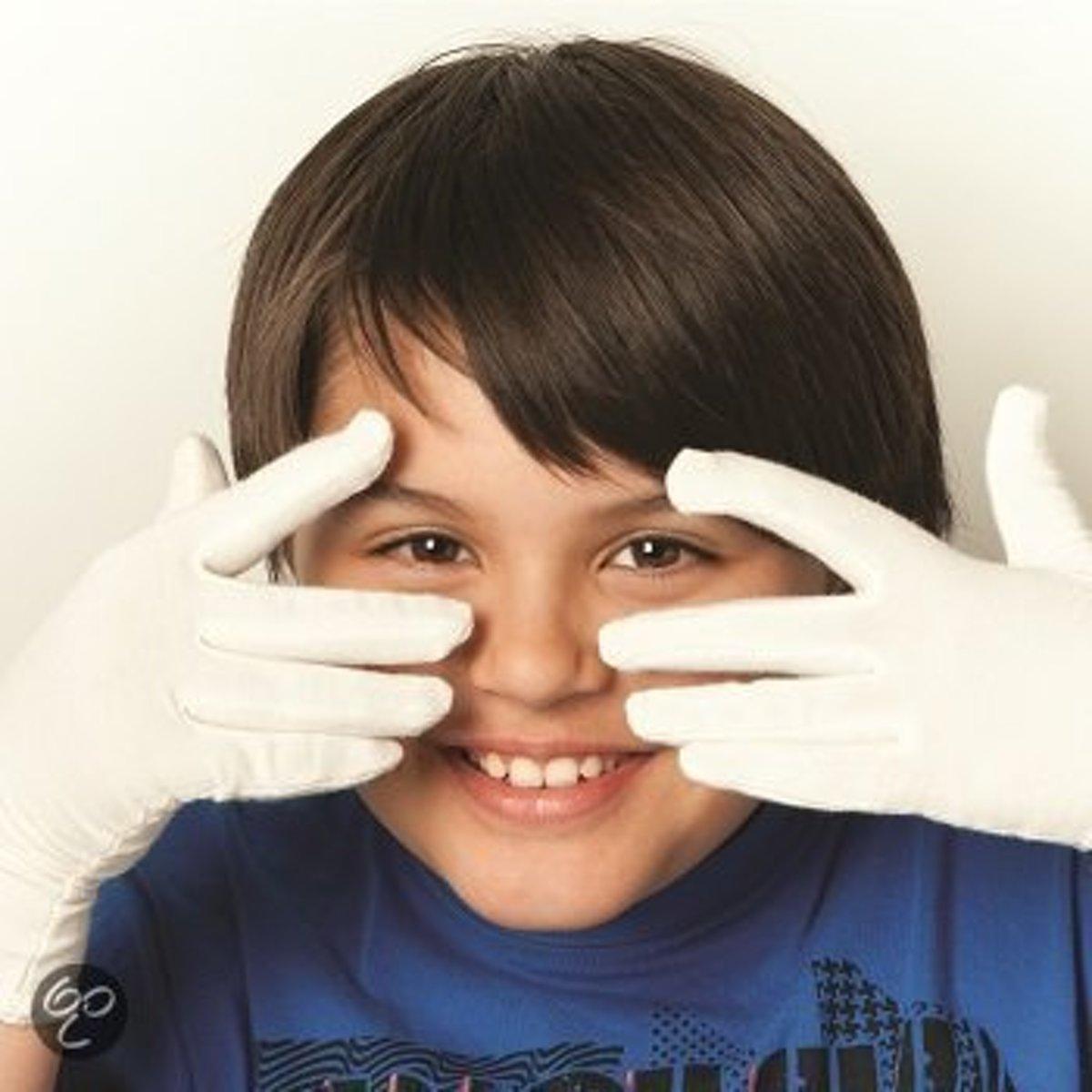 Bamboe handschoenen anti-eczeem maat L kopen