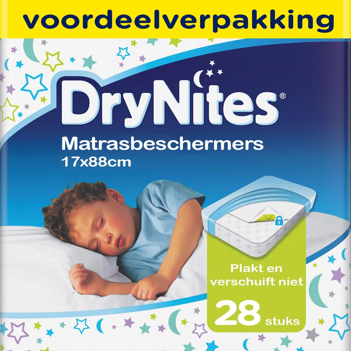 Huggies DryNites Matrasbeschermer - 4x 7 stuks - Voordeelverpakking