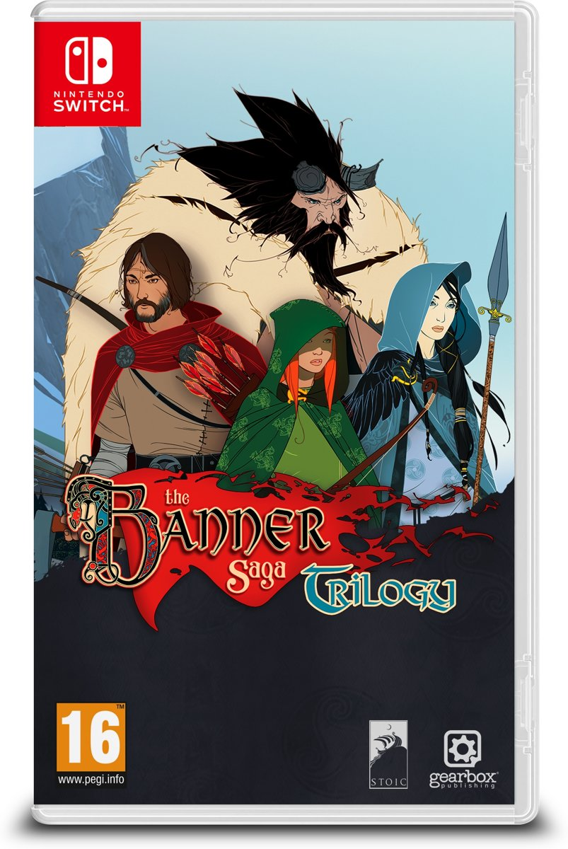 The Banner Saga Trilogy Switch
