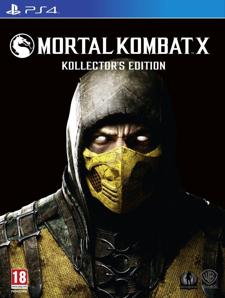 Mortal Kombat X (Kollector's Edition) PlayStation 4