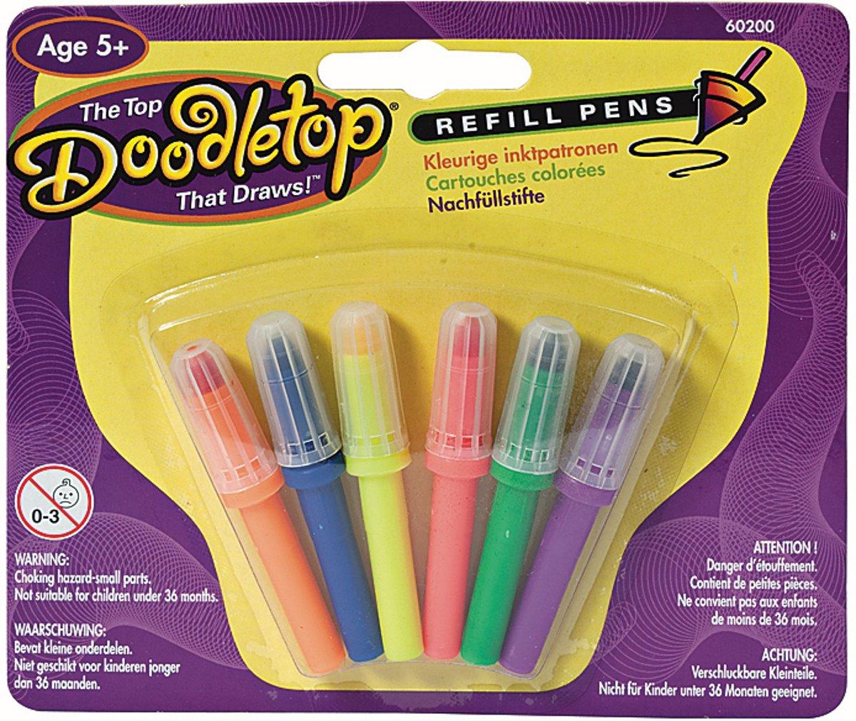 Doodletop Refill pens - Knutselset Kleuren