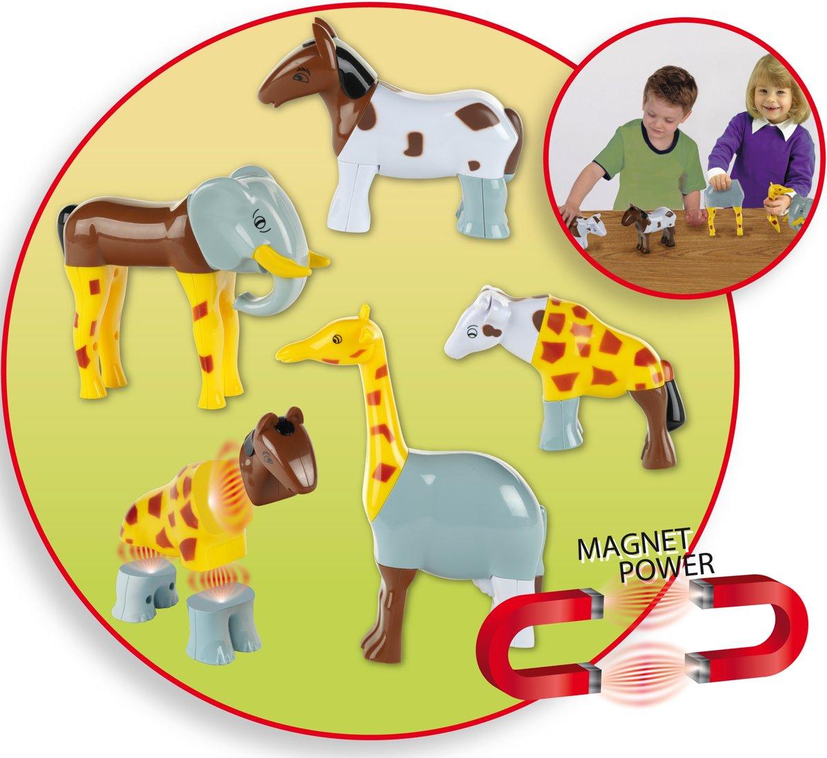 Funny Puzzle Magnetische Dierenpuzzel kopen