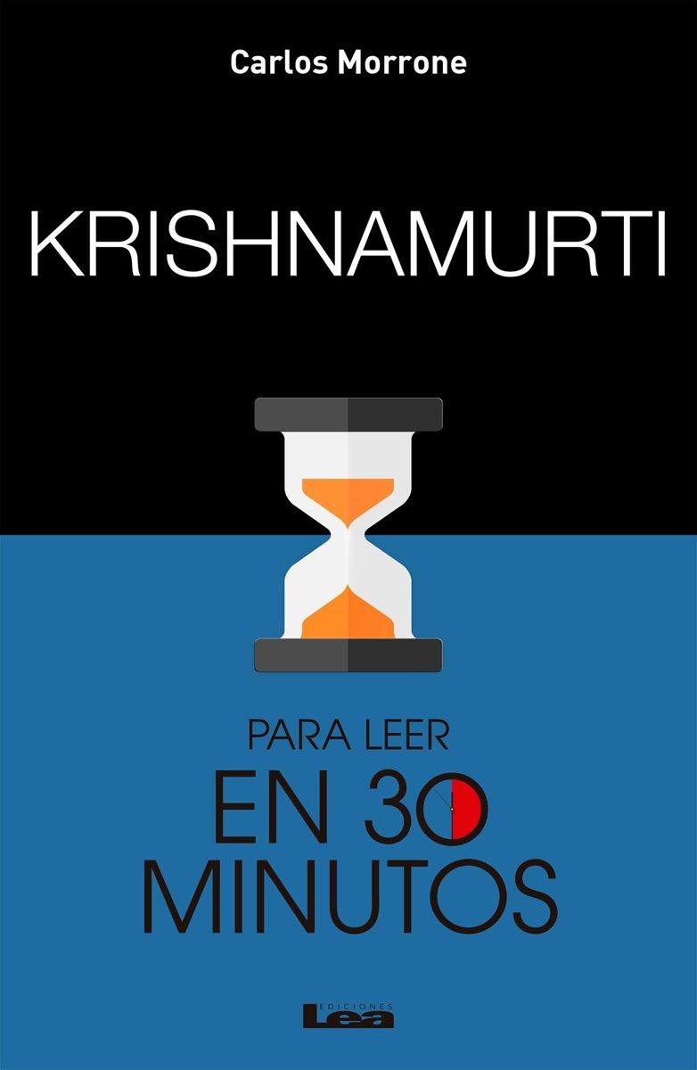 bol.com   Krishnamurti para leer en 30 minutos (ebook), Carlos Morrone    9789877183795   Boeken