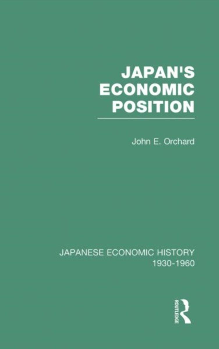 Afbeelding van product Japans Econ Position V 7  - John E. Orchard