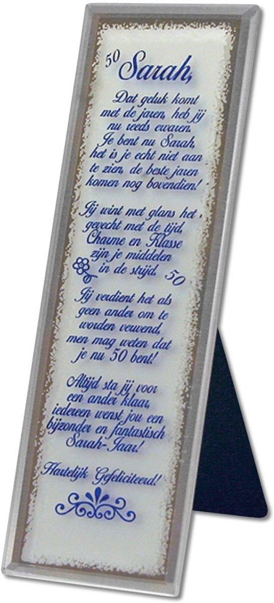 Bolcom Decoratieve Spiegel Met Tekst Sarah