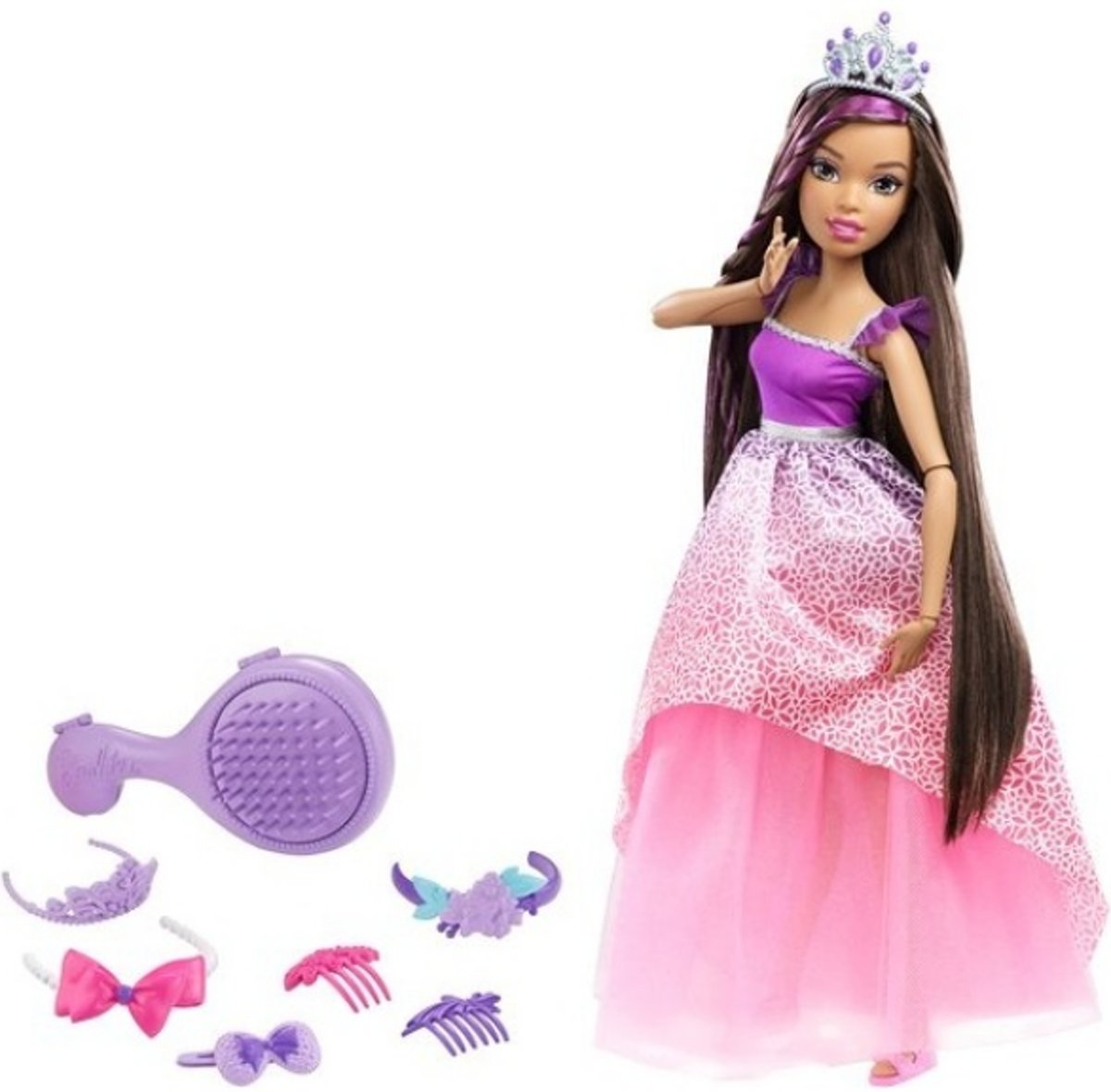 Barbie - Bijzonder Lang Haar Koninkrijk