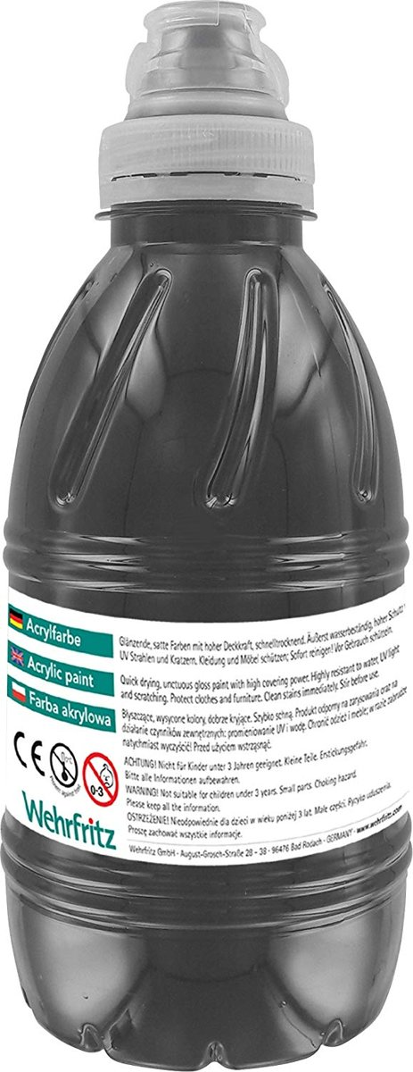 Haba Education - Acrylfarbe, black